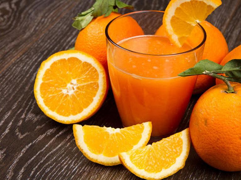 Свежевыжатый сок морковный со сливками