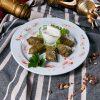 Долма из баранины со сметаной